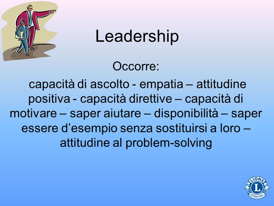 Leadership Occorre:
