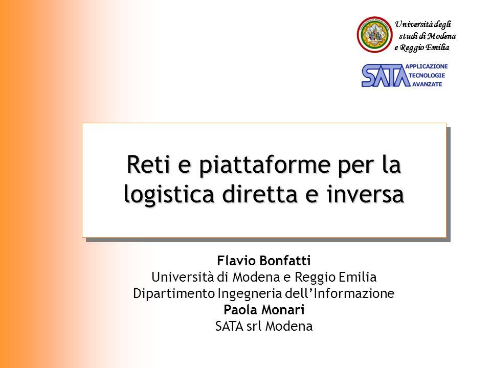 Reti e piattaforme per la logistica diretta e inversa