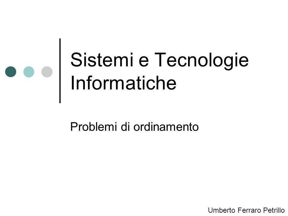 Sistemi e Tecnologie Informatiche