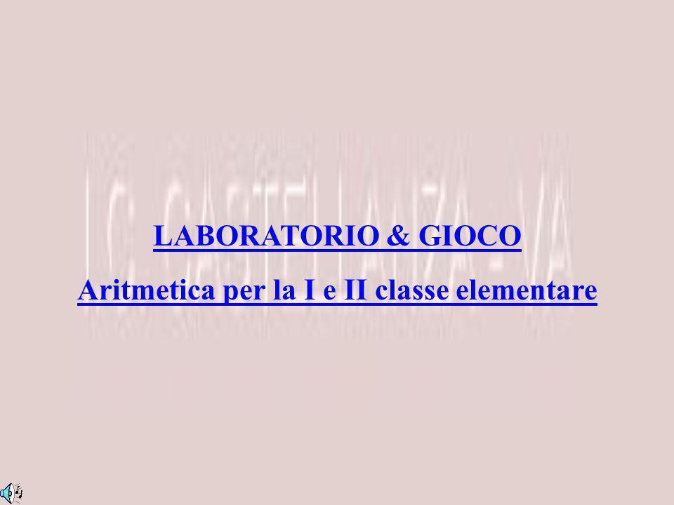 Aritmetica per la I e II classe elementare