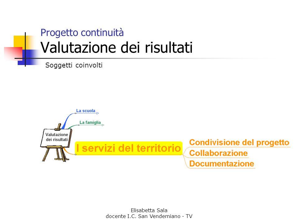 Progetto continuità Valutazione dei risultati
