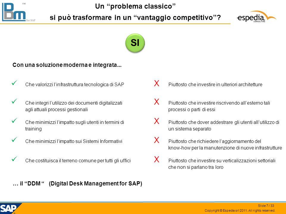 SI Che valorizzi l'infrastruttura tecnologica di SAP