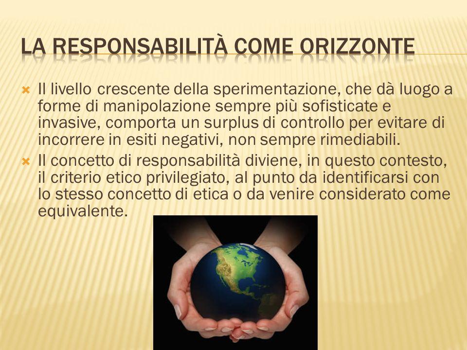 La responsabilità come orizzonte