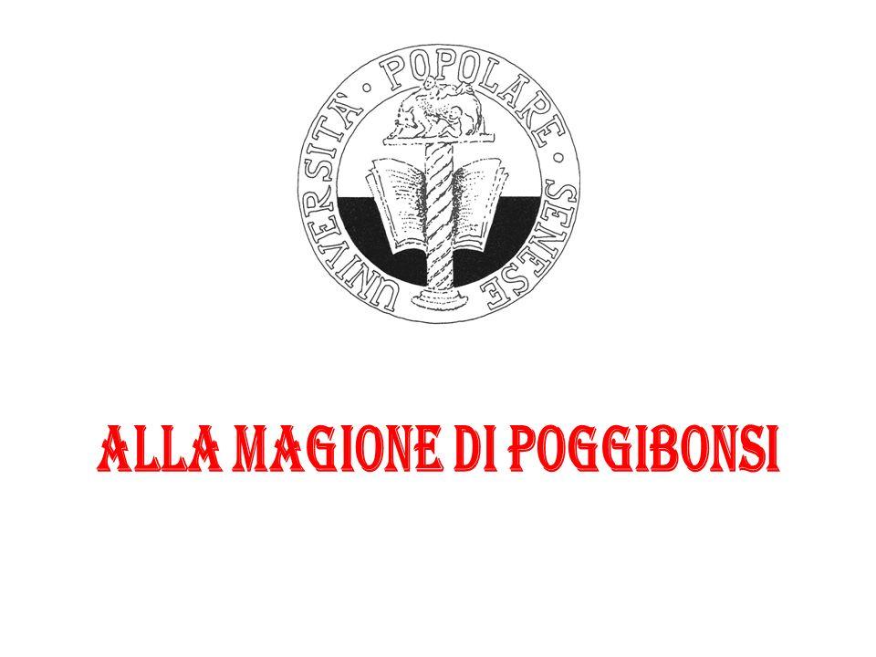 ALLA MAGIONE DI POGGIBONSI