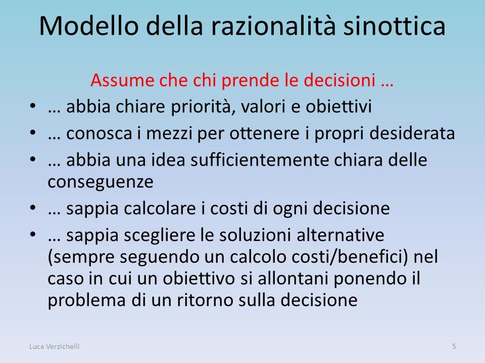 Modello della razionalità sinottica
