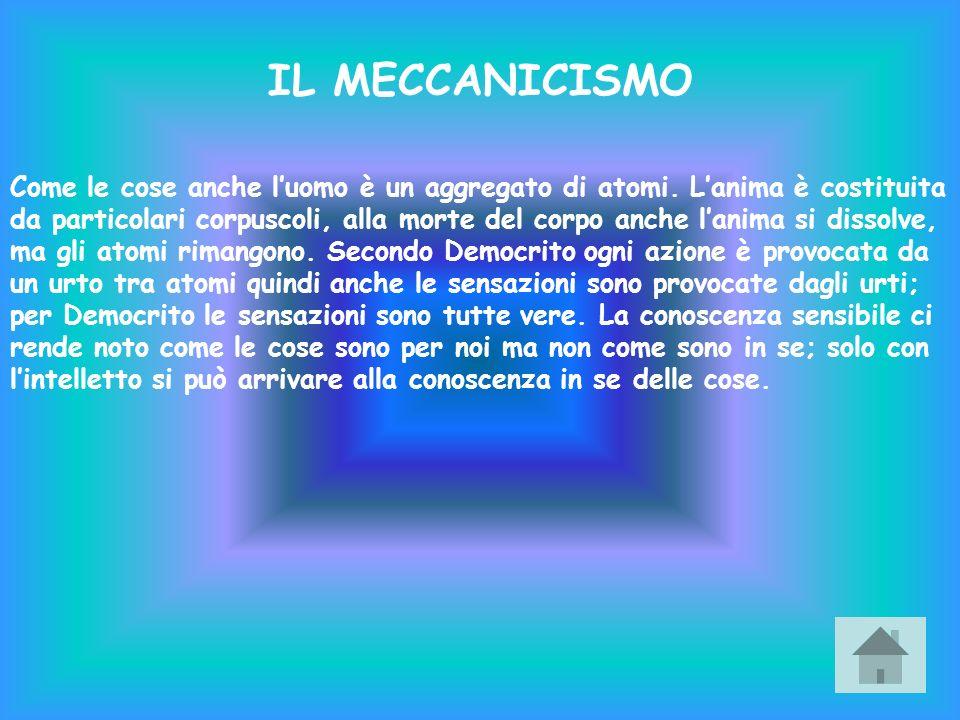 IL MECCANICISMO