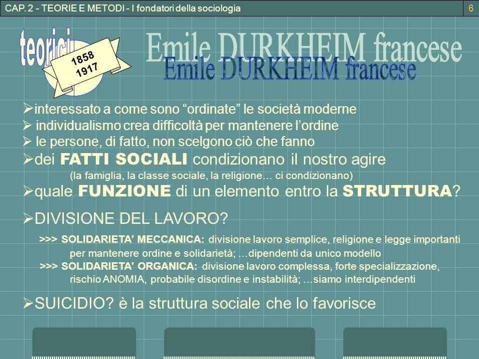 Emile DURKHEIM francese