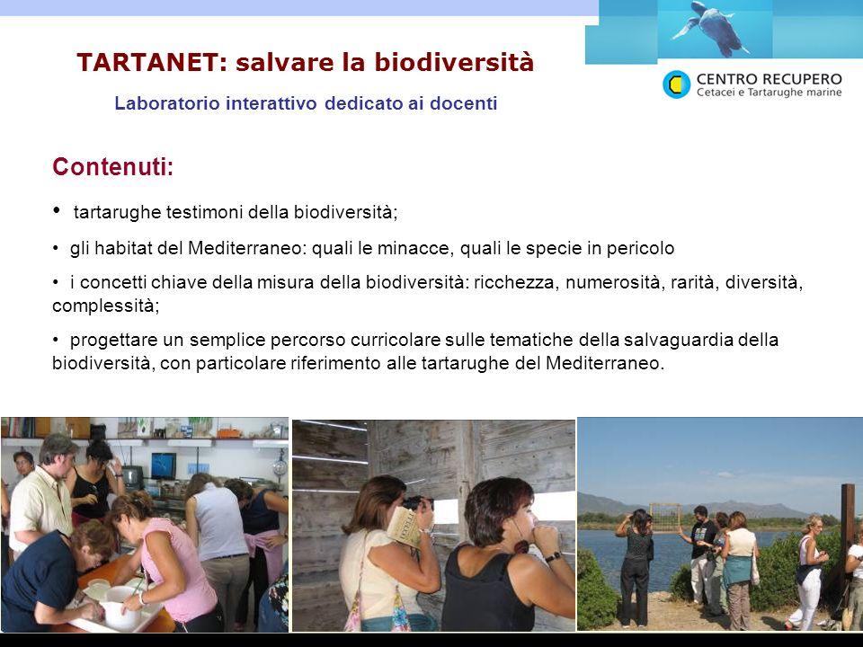TARTANET: salvare la biodiversità