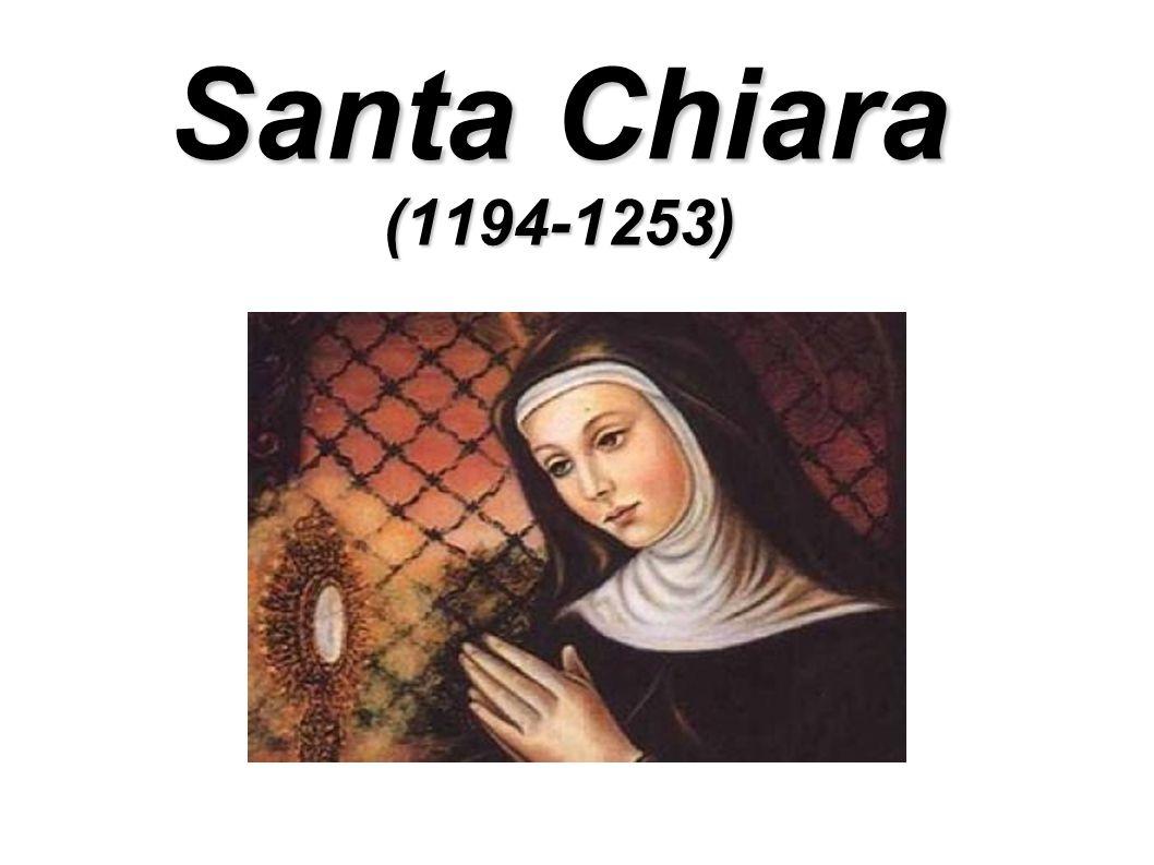 Santa Chiara (1194-1253)