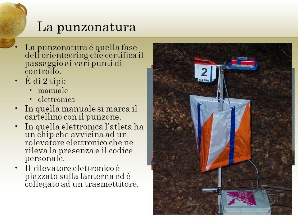 La punzonaturaLa punzonatura è quella fase dell'orienteering che certifica il passaggio ai vari punti di controllo.