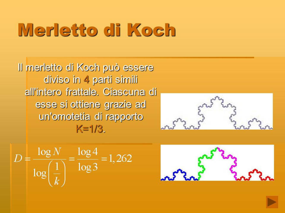 Merletto di Koch