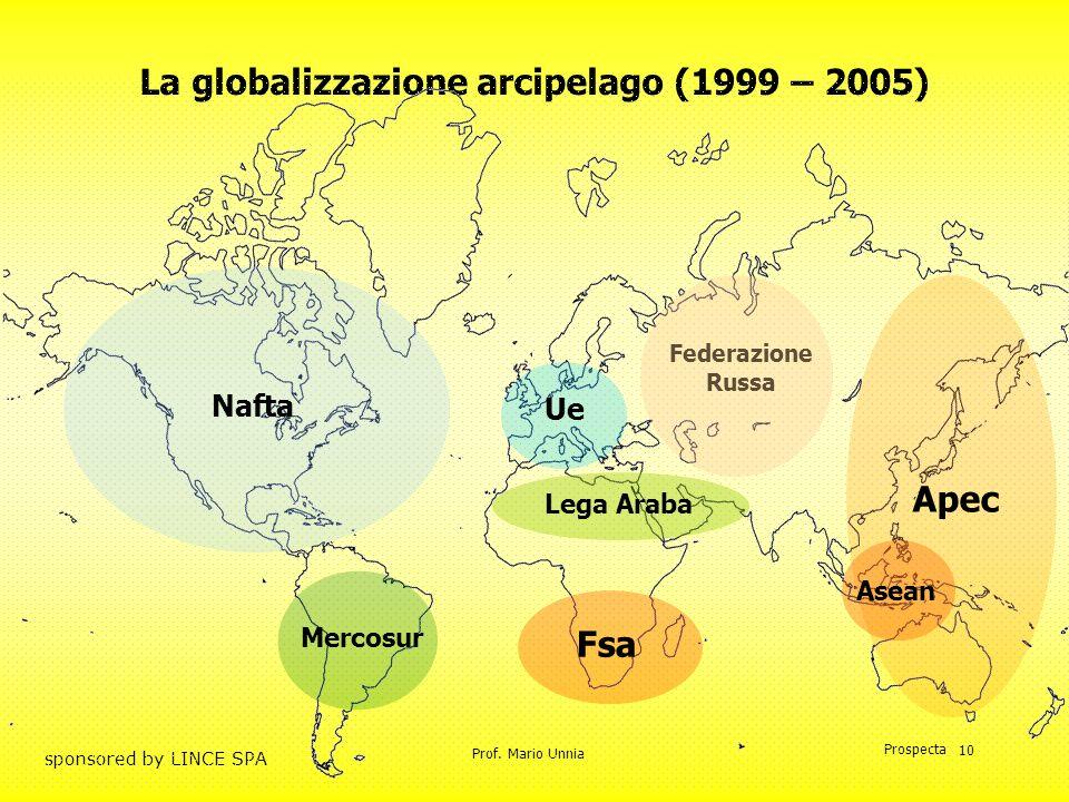 La globalizzazione arcipelago (1999 – 2005)