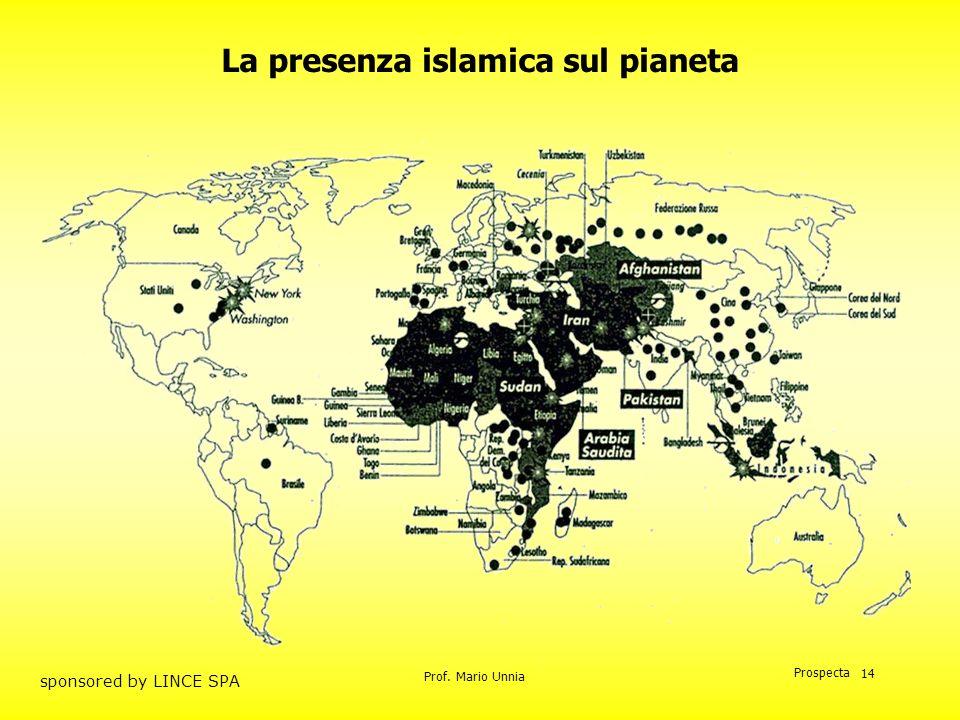 La presenza islamica sul pianeta