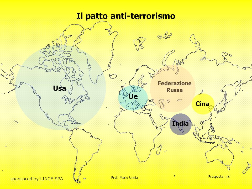 Il patto anti-terrorismo