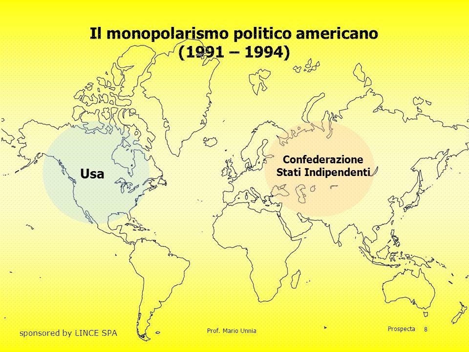Il monopolarismo politico americano (1991 – 1994)