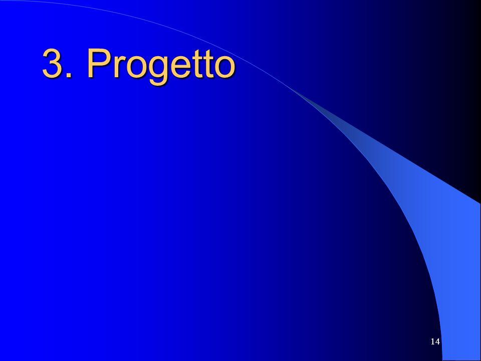 3. Progetto