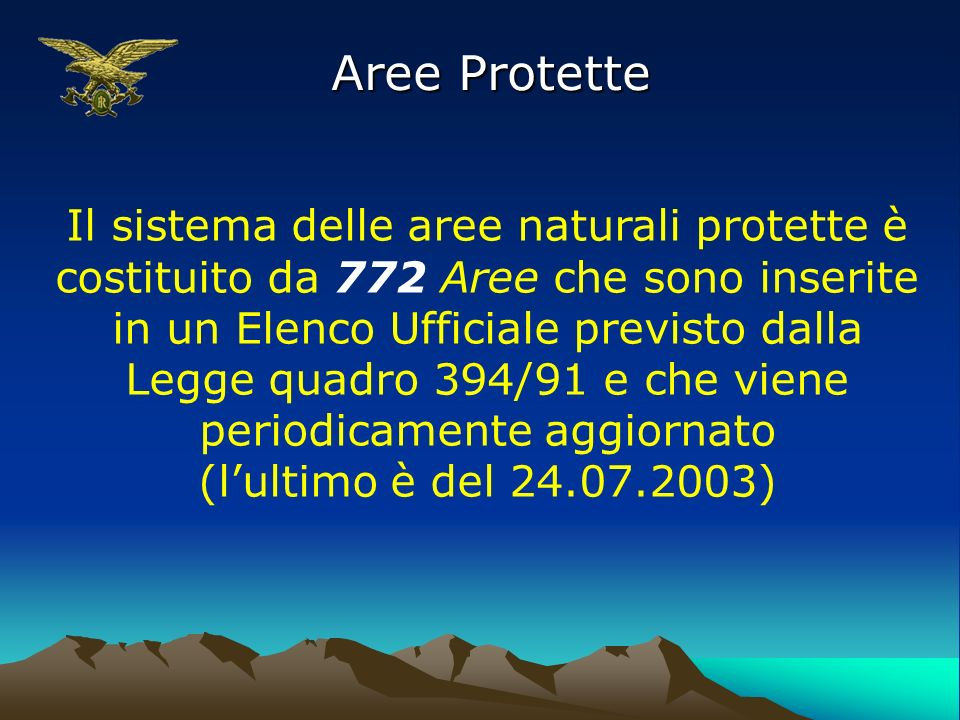Aree Protette