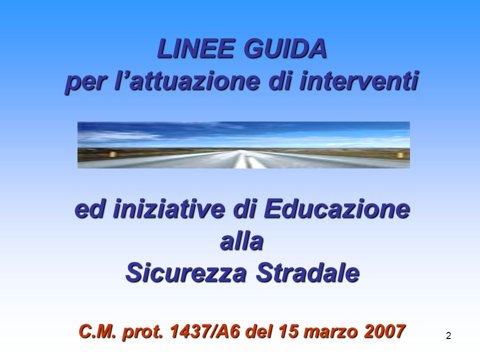 per l'attuazione di interventi ed iniziative di Educazione