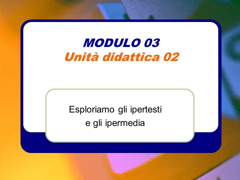 MODULO 03 Unità didattica 02
