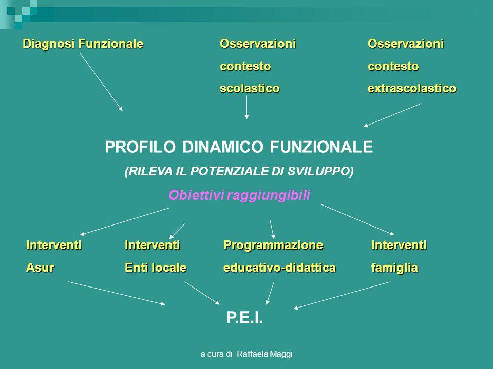 PROFILO DINAMICO FUNZIONALE P.E.I.