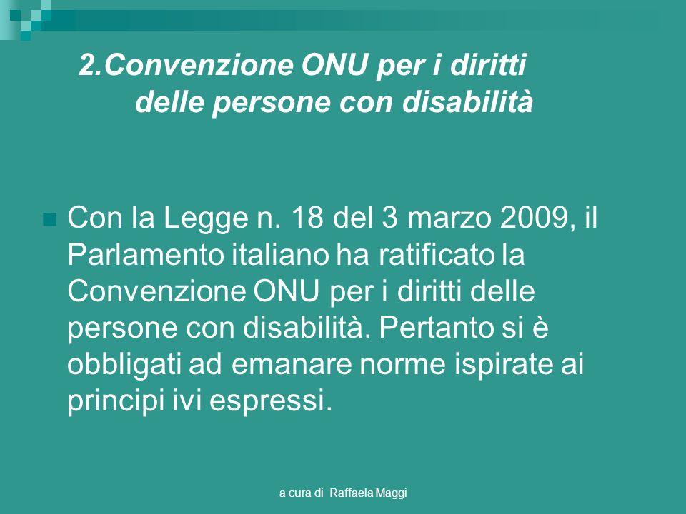 2.Convenzione ONU per i diritti delle persone con disabilità