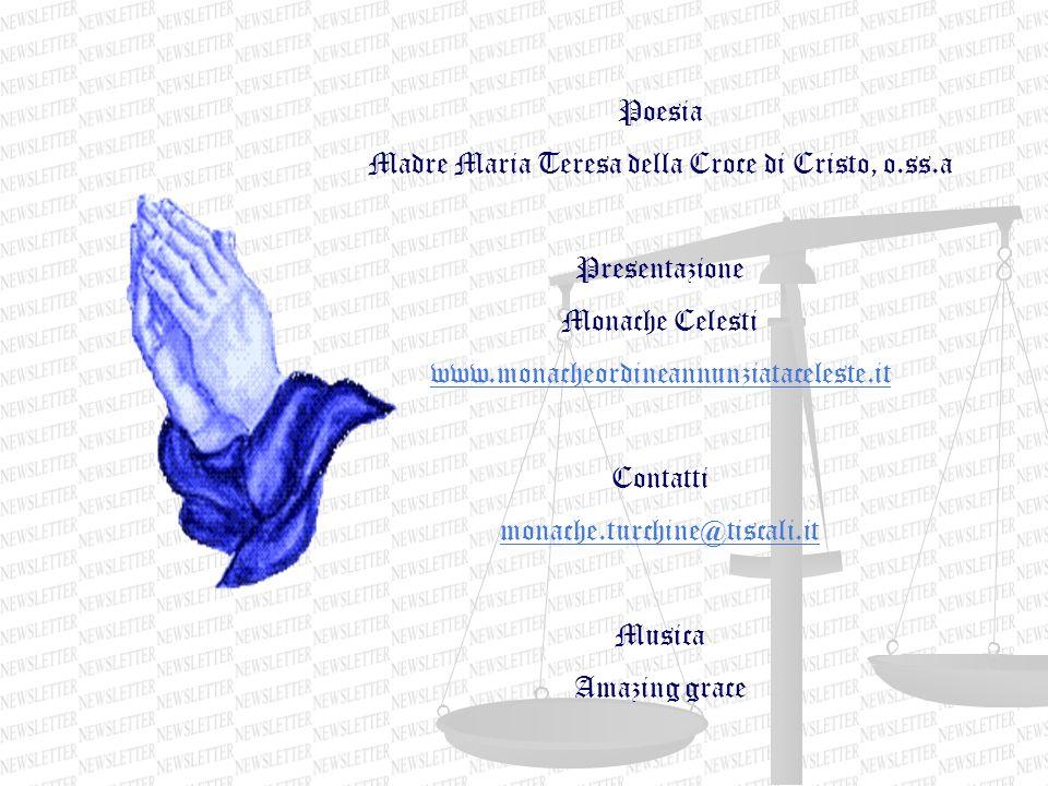 Madre Maria Teresa della Croce di Cristo, o.ss.a