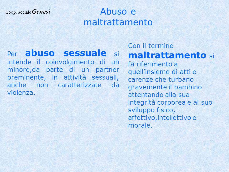 Abuso e maltrattamento