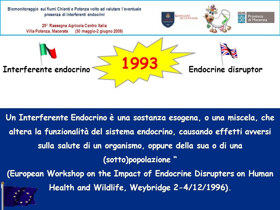 1993 Interferente endocrino Endocrine disruptor