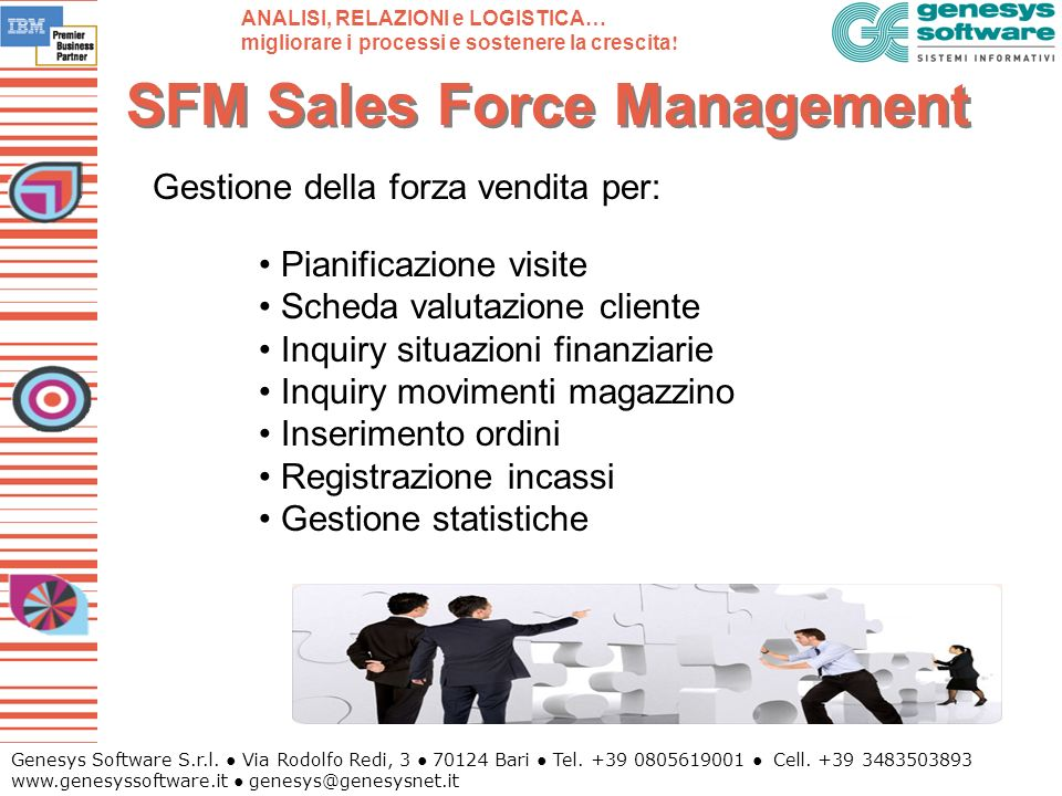 SFM Sales Force Management