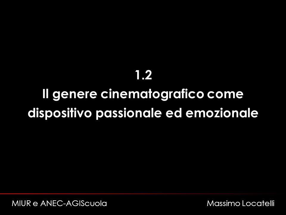 Il genere cinematografico come dispositivo passionale ed emozionale