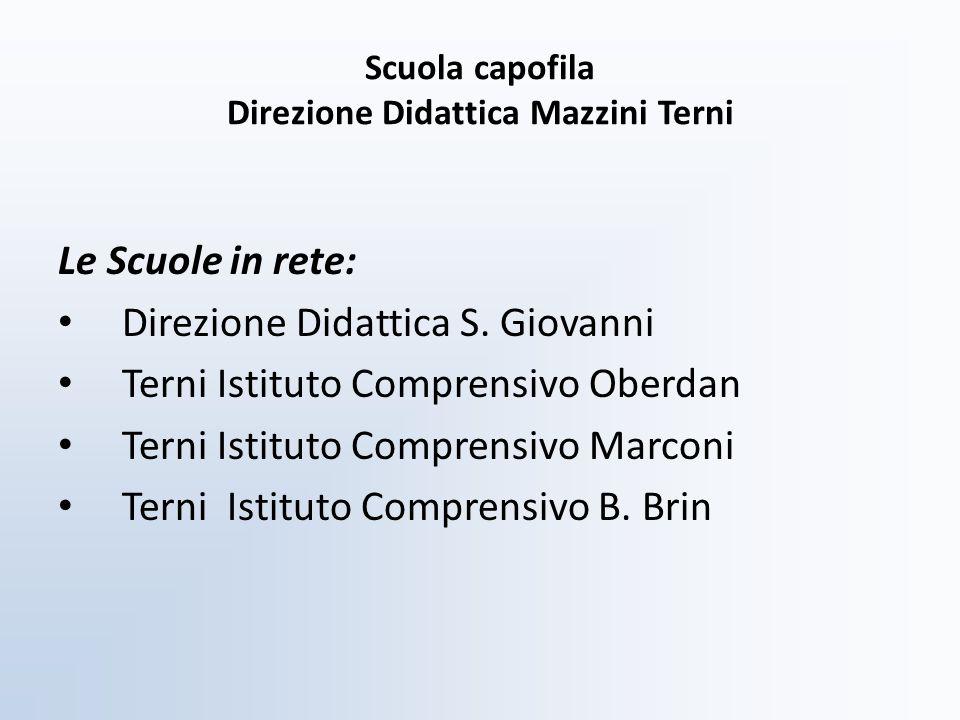 Scuola capofila Direzione Didattica Mazzini Terni