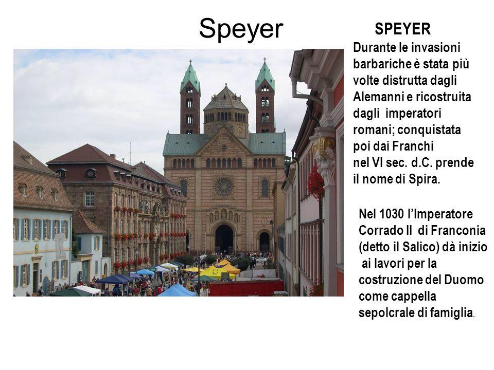 Speyer SPEYER.