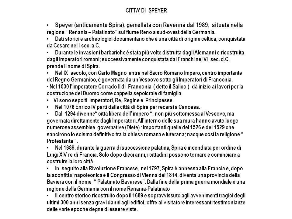 CITTA' DI SPEYER