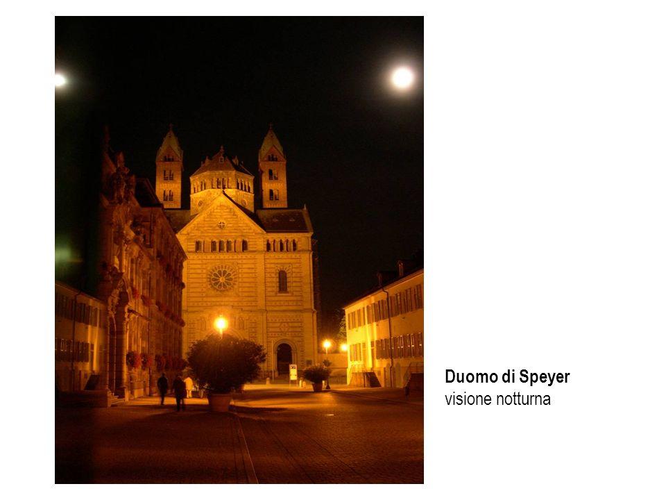 Duomo di Speyer visione notturna