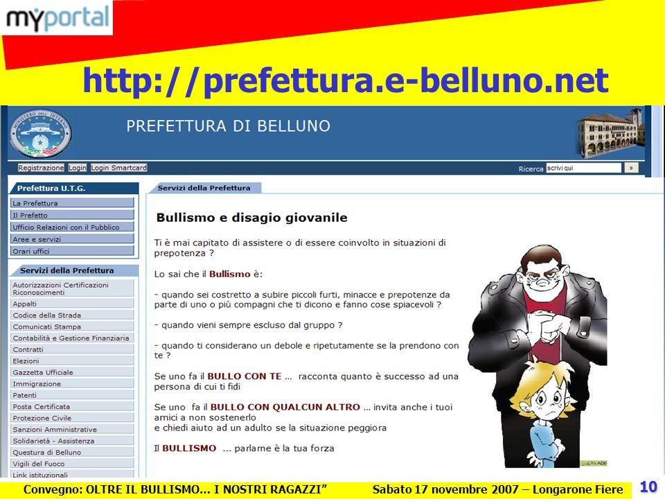 http://prefettura.e-belluno.net 10