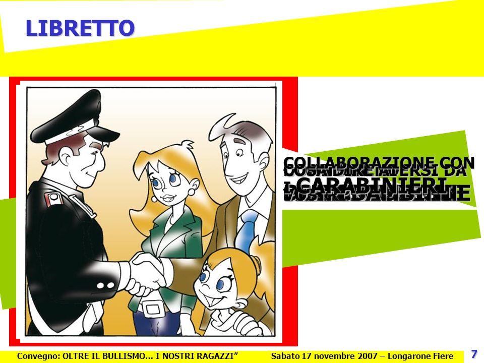 LIBRETTO COLLABORAZIONE CON I CARABINIERI