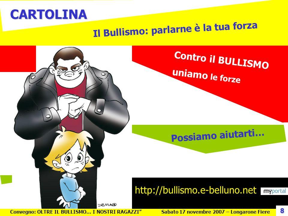 Il Bullismo: parlarne è la tua forza