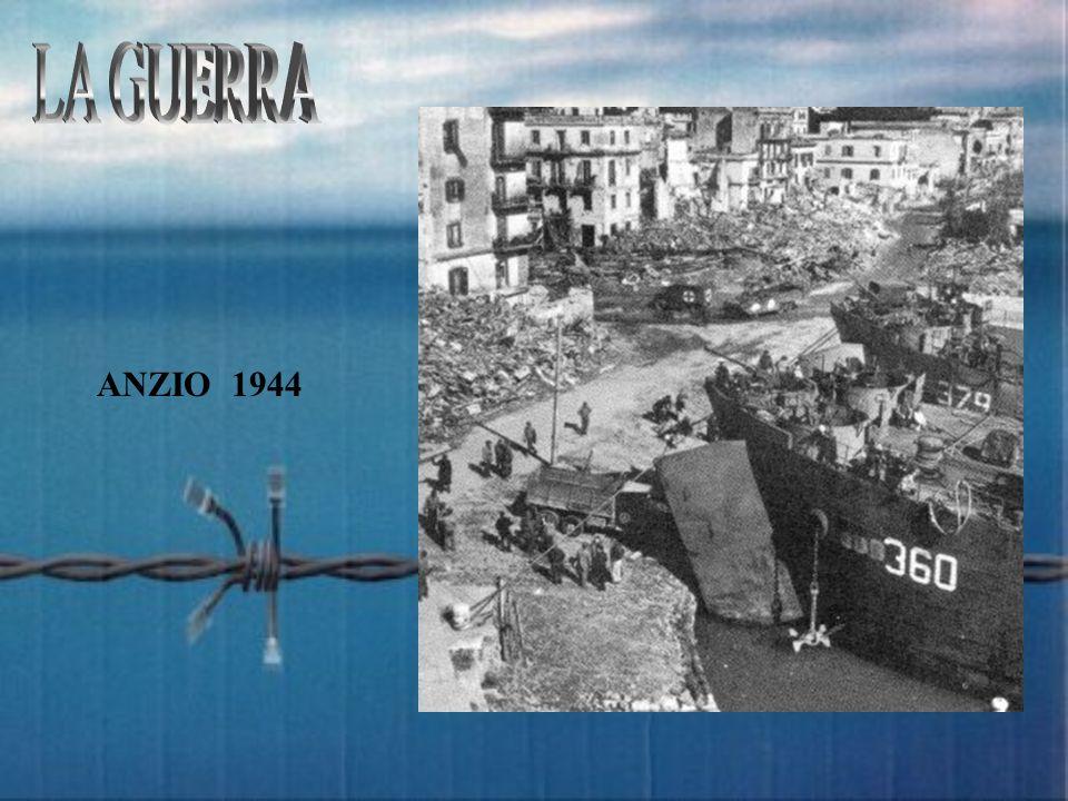 LA GUERRA ANZIO 1944