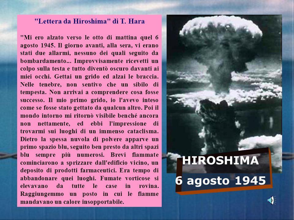 Lettera da Hiroshima di T. Hara