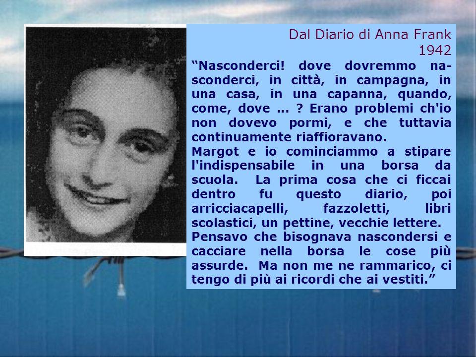 Dal Diario di Anna Frank 1942