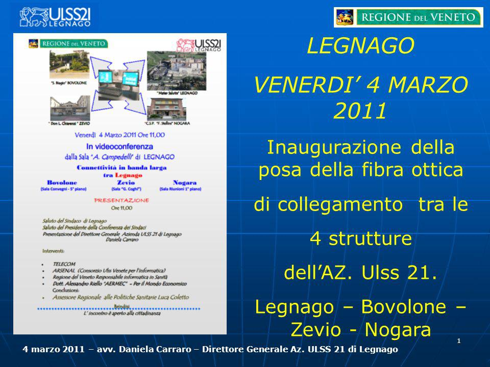 LEGNAGO VENERDI' 4 MARZO 2011