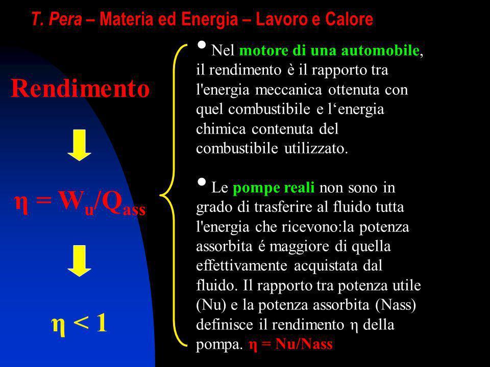 T. Pera – Materia ed Energia – Lavoro e Calore