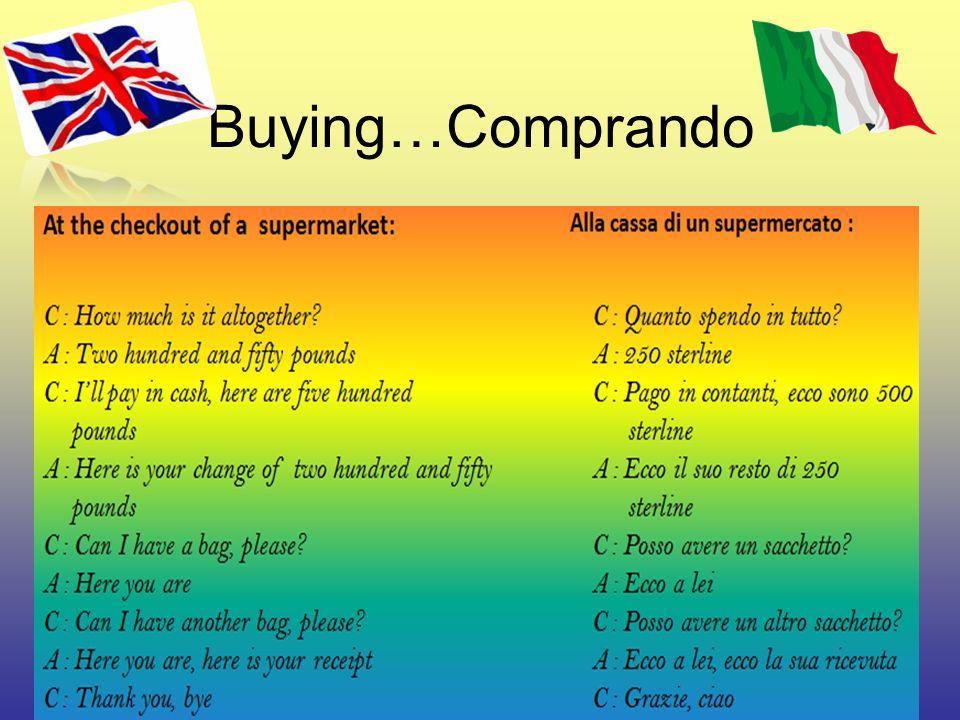 Buying…Comprando