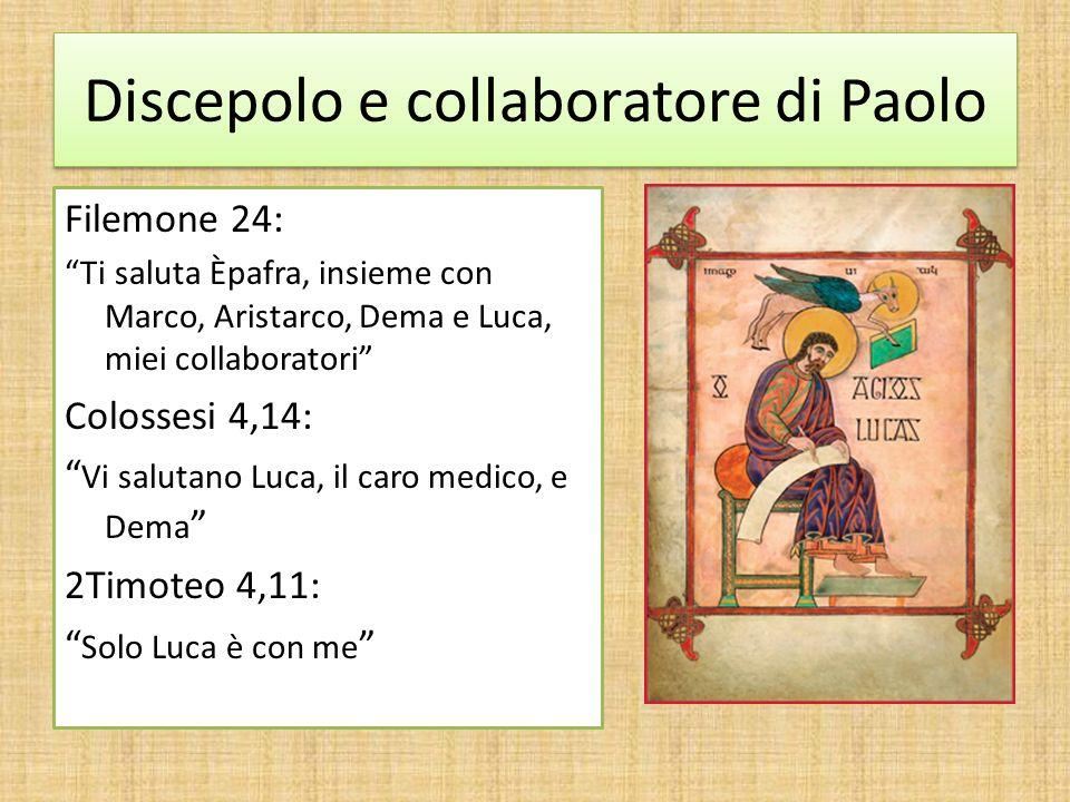 Discepolo e collaboratore di Paolo