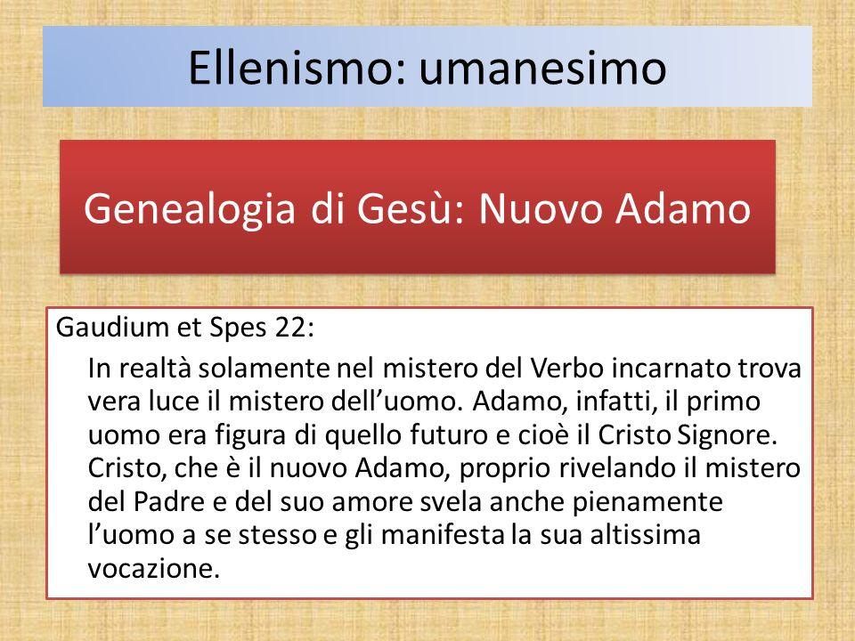 Genealogia di Gesù: Nuovo Adamo