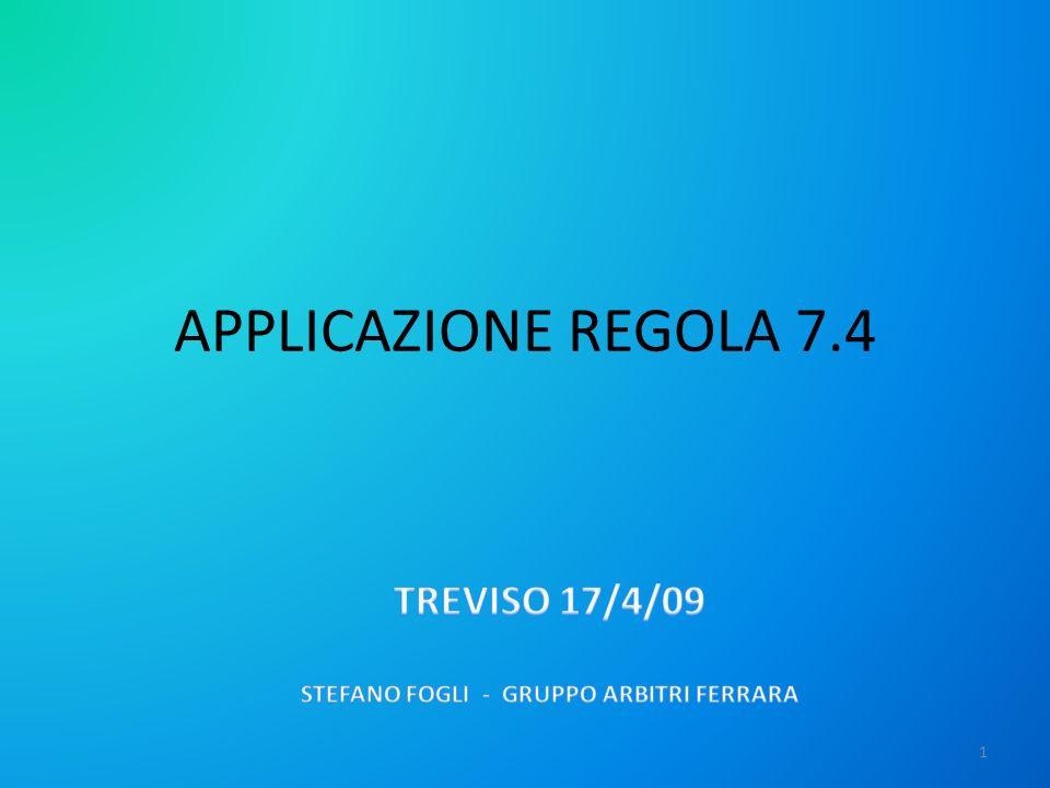 TREVISO 17/4/09 STEFANO FOGLI - GRUPPO ARBITRI FERRARA