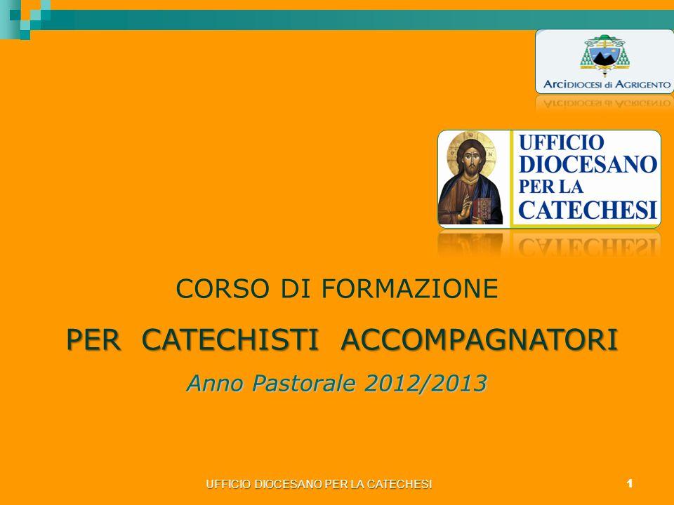 PER CATECHISTI ACCOMPAGNATORI