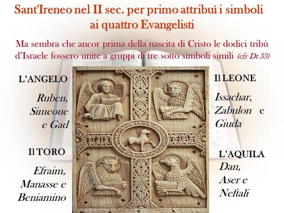 Sant Ireneo nel II sec. per primo attribuì i simboli