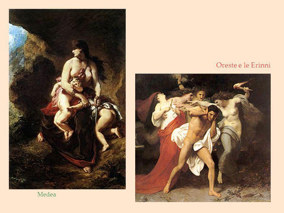 Oreste e le Erinni Medea