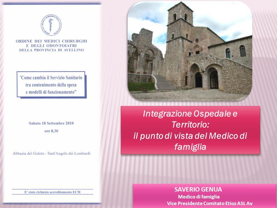 Integrazione Ospedale e Territorio: